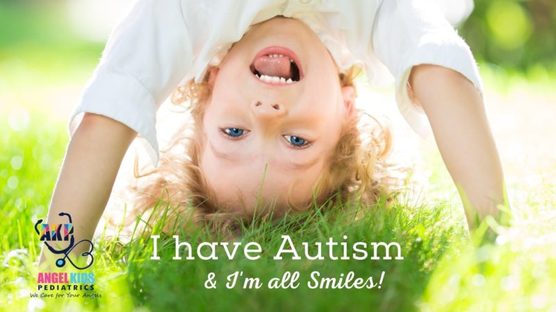 I have autism and im smiling